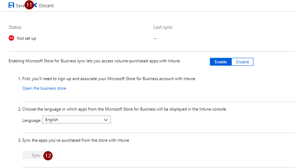 Linking your Microsoft Store for Business to Intune - Orbid365
